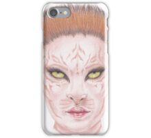 Tiger Girl iPhone Case/Skin