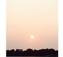 Sunset on the Ocean by Jsjinfu