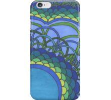 Blue Oceans of Zentangle iPhone Case/Skin