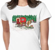 Gypsy Cob Christmas Womens Fitted T-Shirt