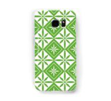 Grass Green 1950s Inspired Diamonds Samsung Galaxy Case/Skin