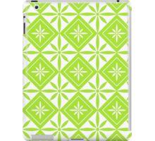 Lime Green 1950s Inspired Diamonds iPad Case/Skin