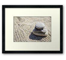Stone Framed Print
