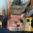 ~ Medieval cottages of Chelsworth by Christopher Cullen