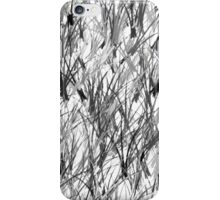 Monochrome Branches iPhone Case/Skin