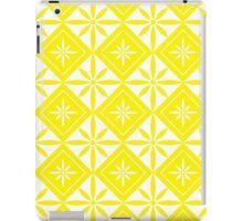 Yellow 1950s Inspired Diamonds iPad Case/Skin