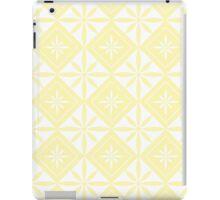 Cream 1950s Inspired Diamonds iPad Case/Skin
