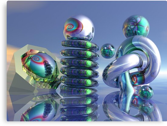 Glass sculptures by walstraasart