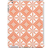 Coral 1950s Inspired Diamonds iPad Case/Skin
