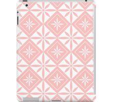 Light Pink 1950s Inspired Diamonds iPad Case/Skin