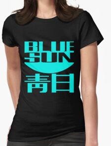 Firefly: Blue Sun for Dark Backgrounds Womens Fitted T-Shirt