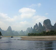 Li River by Susan Moss