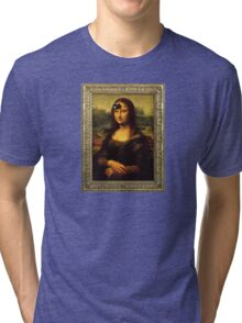 Mona Lisa Time Tri-blend T-Shirt