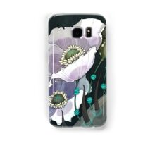 White Opium Poppies  Samsung Galaxy Case/Skin