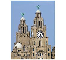 Liver Building Photographic Print