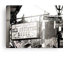 Rue Bienville Canvas Print