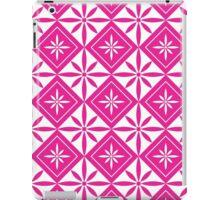 Hot Pink 1950s Inspired Diamonds iPad Case/Skin