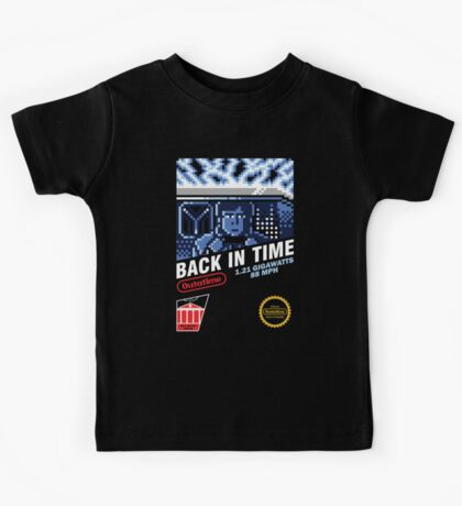 Back in Time Kids Tee
