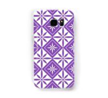 Light Purple 1950s Inspired Diamonds Samsung Galaxy Case/Skin