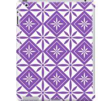Light Purple 1950s Inspired Diamonds iPad Case/Skin
