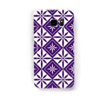 Purple 1950s Inspired Diamonds Samsung Galaxy Case/Skin
