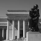 the Thinker ~ Legion of Honor by fototaker