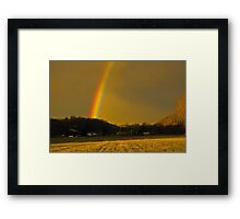 Genesis 9:13 Framed Print
