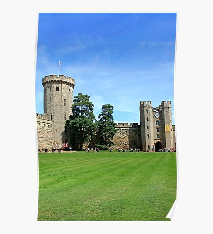 Warwick Castle England Poster