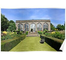 Orangery at warwick Castle England Poster
