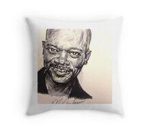 Samuel Jackson Throw Pillow