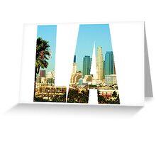 LA Greeting Card