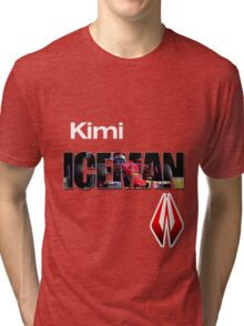 Kimi Raikkonen Iceman Shirt Tri-blend T-Shirt
