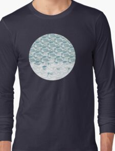 Big blue wave Long Sleeve T-Shirt