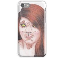 Leopard Girl iPhone Case/Skin