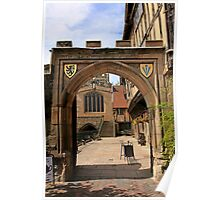 Norman Archway in Warwick Poster