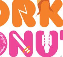 Dorkin' Donuts Sticker