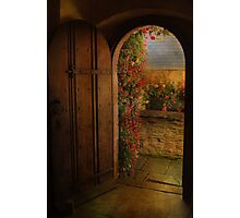 The Church Door Photographic Print