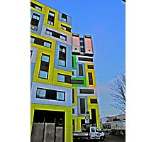coloured blocks in HDR Photographic Print