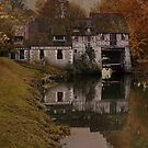 Moulin d'Andé (the Mill at Andé) - Normandie, France by Jean-Pierre Ducondi