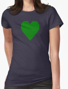 Green WC3  Womens Fitted T-Shirt