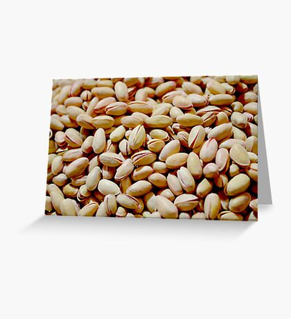 Pistachio Nuts Greeting Card