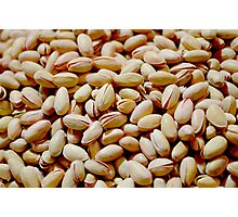 Pistachio Nuts Photographic Print