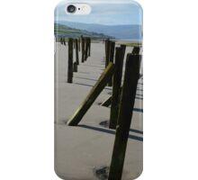 Wooden Beach Structures iPhone Case/Skin