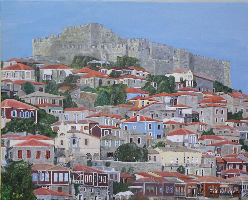 Molyvos II, Lesvos, Greece by Eric Kempson