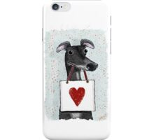 I Think This Hound Likes You iPhone Case/Skin