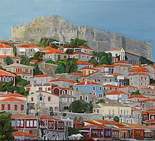 Molyvos II, Lesvos, Greece by Eric Kempson
