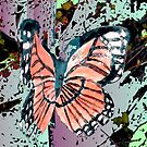 Orange butterfly design by ♥⊱ B. Randi Bailey