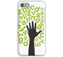 Tree the alphabet iPhone Case/Skin