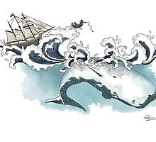 Moby Dick by CustomBySophy