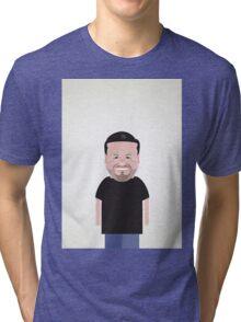 Ricky Gervais. Tri-blend T-Shirt